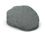 Houndstooth Pattern Flat cap