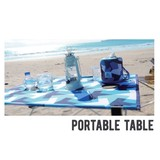 【ポータブルテーブル2017SSモデル】部屋でも外でも使える自然をテーマにしたデザイン