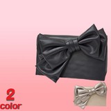 2017 S/S Clutch Bag 2 Colors Ribbon PARTY BAG