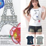 2017 S/S PARIS Decoration T-shirt
