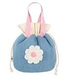 かわいい花モチーフ 子供 通学 弁当ケース 携帯ケース 財布