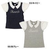 Stripe Attached Short Sleeve T-shirt