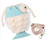 かわいい魚形 ミニショルダーポーチ