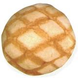 【パン雑貨】しっとりクッションミニ(メロンパン)★Shittori Bakery★[229602]