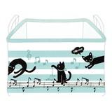 【黒猫ミィー】ストレージBOX(ミュージック)[227874]