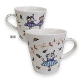 Cat Mug Cat Chips Ballerina