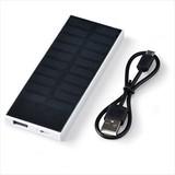 ソーラーモバイルチャージャー3000/充電器 モバイルチャージャー 携帯