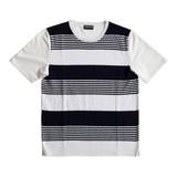 ★超おすすめアイテム★【2017春夏】前身頃ニット切替 Tシャツ
