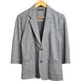 【2017春夏新作】【TESS】杢6分袖カットジャケット