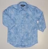 2017 Summer Denim Print Regular Shirt