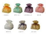 【巾着袋】和紙のような素材感♪巾着パッケージ*全7色