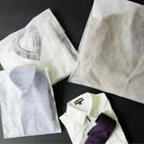 【アパレル用平袋】内包装に…後利用できる不織布製