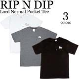 《即納》RIP N DIP《春夏新作》■S/S TEE■Lord Nermal Pocket Tee