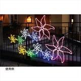 【夏装飾品】LEDトロピカルフラワーライト