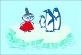 M/Mポストカード(ペンギン)