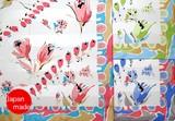 横浜シルクスカーフ4008-9975 【日本製】水彩チューリップ花