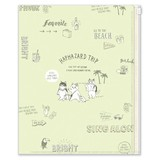 Slider Attached Pocket File Whim Travel Vacation
