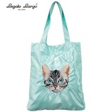 Legato Largo American Shorthair Cat Embroidery Lesson Tote