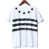【2017SS新作】 スター刺繍ボーダーTシャツ