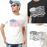 2017 S/S Stars And Stripes Print Pocket T-shirt