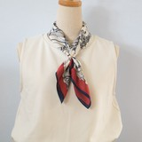 【在庫限り! スカーフSALE】スカーフクリップ付き スカーフ各種A