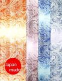 横浜シルクタイスカーフ4015-1341 【日本製】オンブレーペイズリー