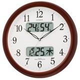 訳あり特価! シチズン電波掛時計 ネムリーナカレンダーM01 4FYA01-006