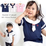 2017 Summer Jersey Stretch Marine Sailor T-shirt Unisex