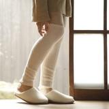 【日本製】絹&綿レッグウォーマー 52cm丈