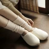 【日本製】絹&綿レッグウォーマー 23cm丈
