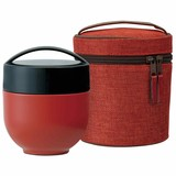 Light-Weight Heat Retention Donburi Bowl Lunch Bag Attached Modern Attention