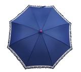 ◆新作◆ 【リールリール・ガールズ】子供用雨傘 すそロゴプリントフリル