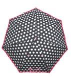 ◆新作◆ 【リールリール・ガールズ】子供用雨傘(折りたたみやすい) ドットハートフリル