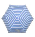 ◆新作◆ 【リールリール・ガールズ】子供用折りたたみ雨傘 ボーダー花レース