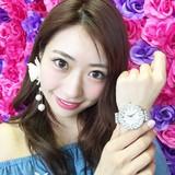 キラキラビジュがゴージャス腕時計【127-0305】