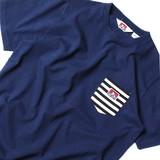 【2017SS新作】BEN DAVIS ボーダー ポケット付 Tシャツ