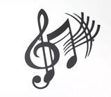 【4月21日から30日まで10%分引きセール!】【ウォールアート】ミュージック