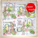 横浜シルクスカーフ4008-9075【日本製】風景