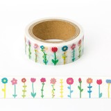 masking tape AMT-19 flower colorful