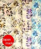 横浜シルクモダール大判ストール 4072-8030【日本製】花