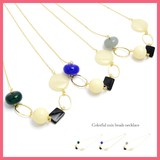 Rectangle Beads Necklace
