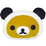 【リラックマ】フェイスクッション(リラックマ)★パンダでごろん★[403812]