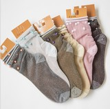 【春夏新作socks】優しい肌触り☆ シースルーソックス 爽やか 靴下 婦人