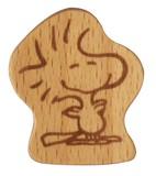 【スヌーピー】 木製箸置き (ウッドストック)