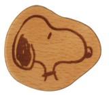 【スヌーピー】 木製箸置き (チャーリー・ブラウン)
