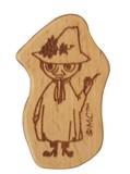 【ムーミン】 木製箸置き (スナフキン)