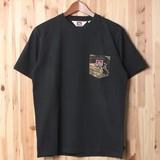 【2017SS新作】カモポケット付き 半袖Tシャツ