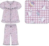【サンリオ】子供半袖ボタンパジャマ