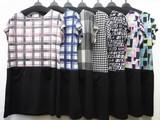 Print Bi-Color Tunic