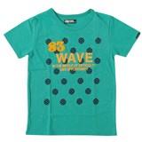 【2017年春夏新作】WAVE刺繍半袖Tシャツ